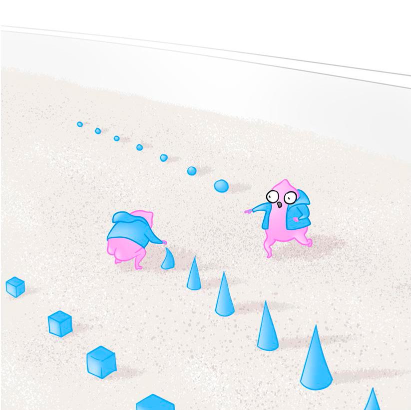 Карикатурное изображение Automotion QA разработчиков