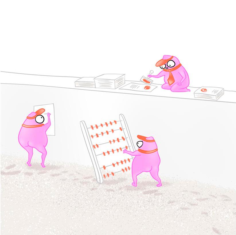 Карикатурное изображение 1с программистов
