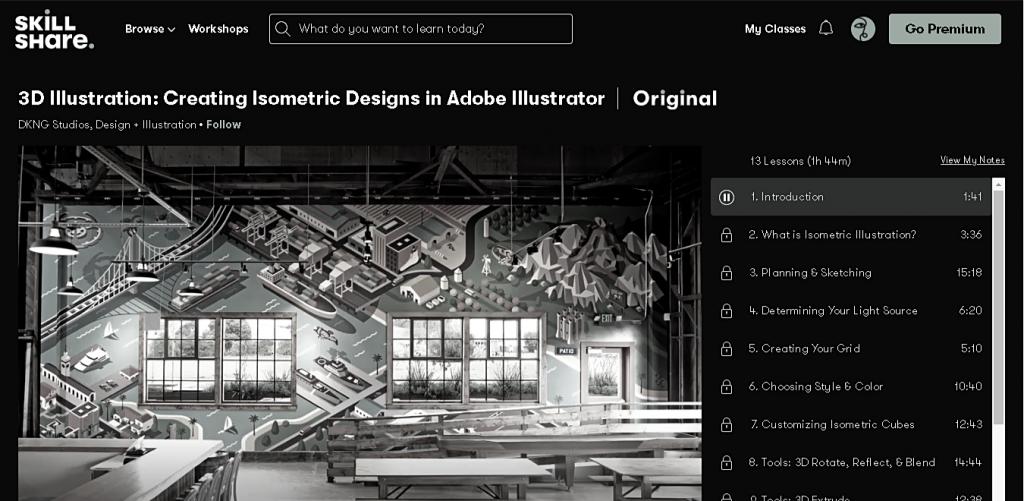 3D-иллюстрация: создание изометрических рисунков в Adobe Illustrator