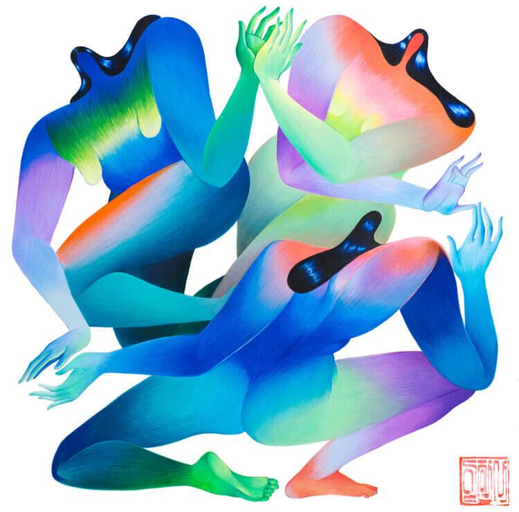 абстрактные женские формы
