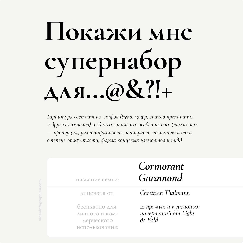 Cormorant Garamond