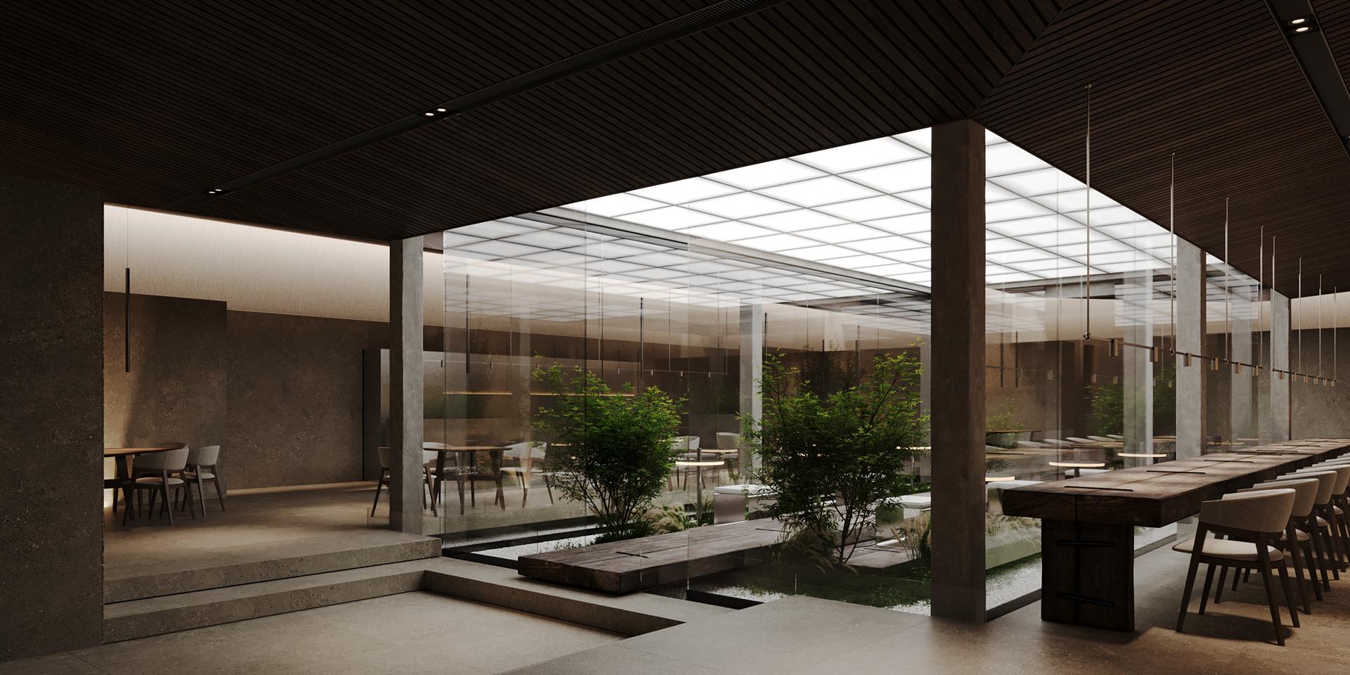 дизайн пространства ресторана