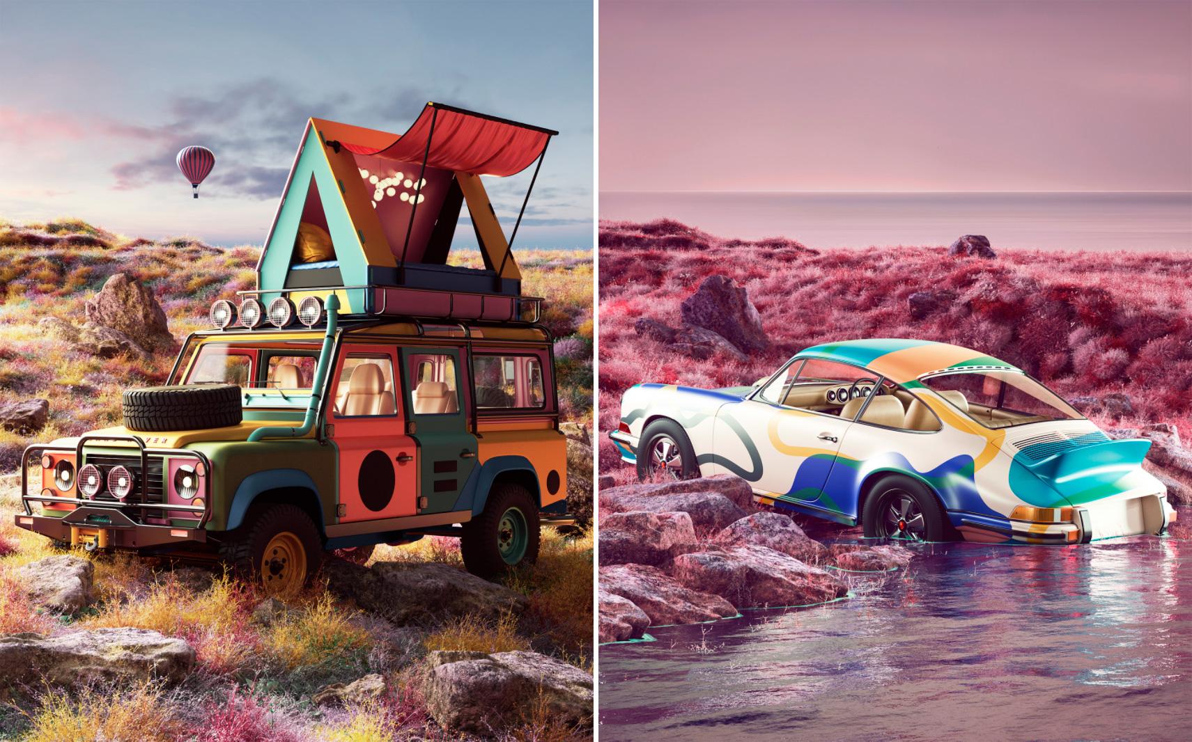 Art работы выполнены в Cinema 4d и откорректированные в Photoshop