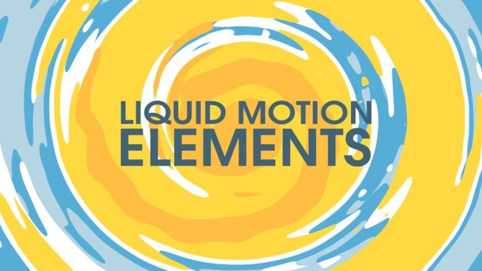 Liquid motion elements v.2