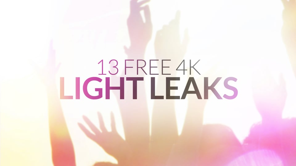 13 Free 4K Light Leaks