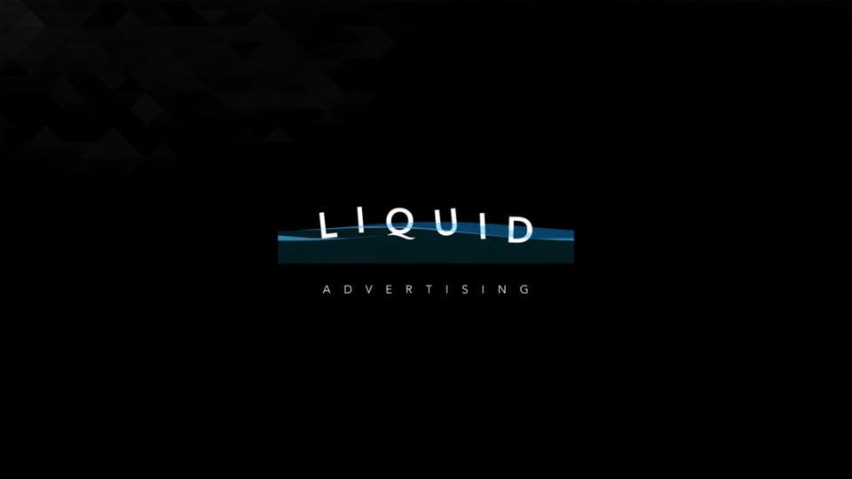 Liquid Adverting Logo - Motion design