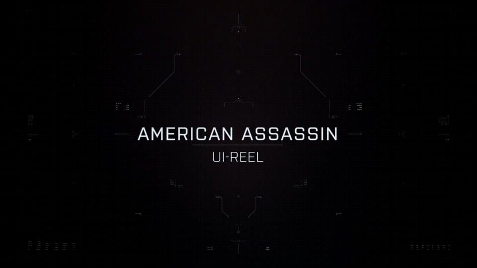 American Assassin UI showreel | Screen Graphics | Territory Studio