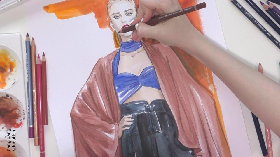 Fashion-иллюстрация как профессия (трейлер)