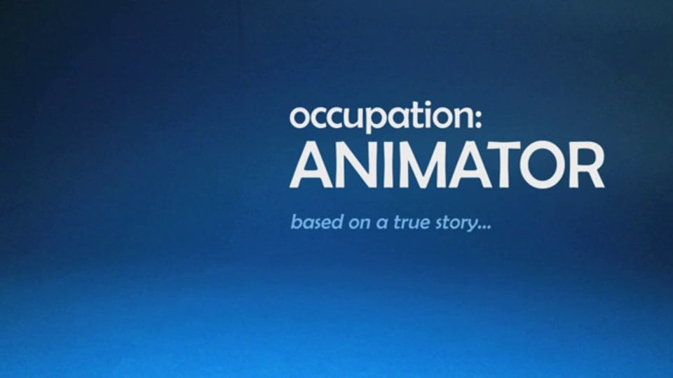 Stop Motion - Occupation: Animator