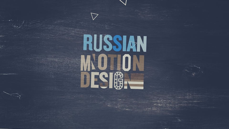 Russian Motion Design 2013