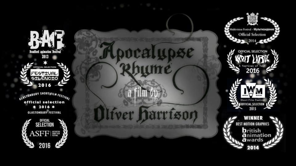 APOCALYPSE RHYME   -    Oliver Harrison
