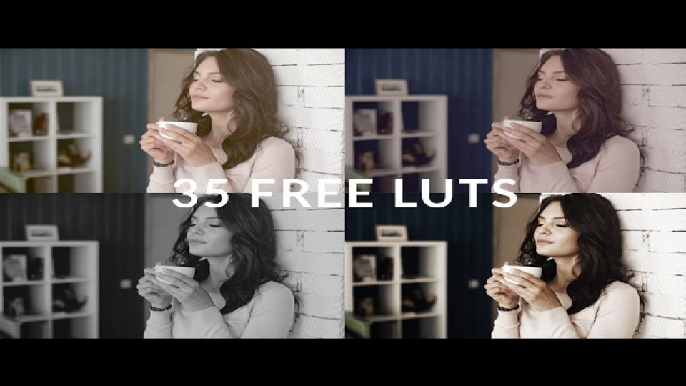 35 Free LUTs from RocketStock.com