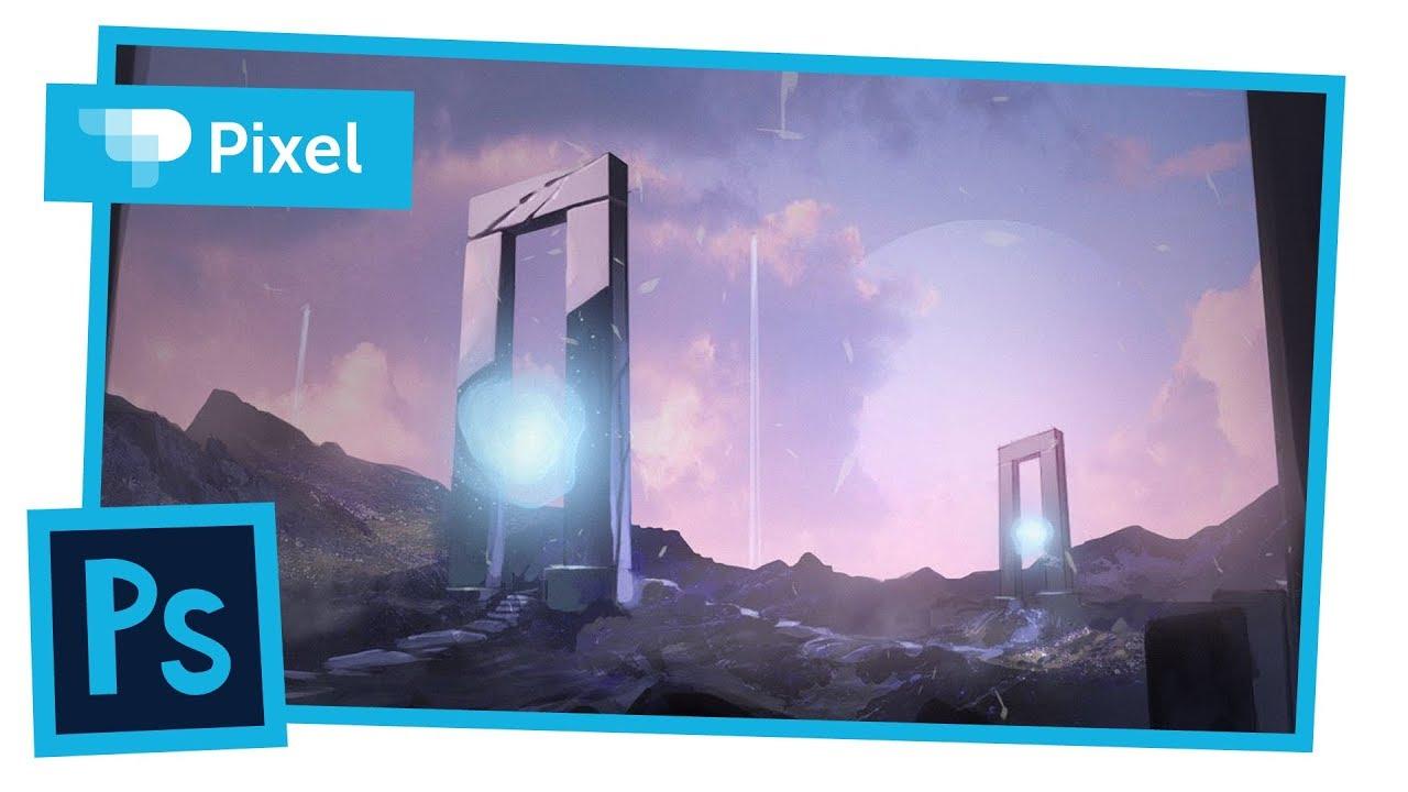Рисуем магические порталы в Adobe Photoshop | локация