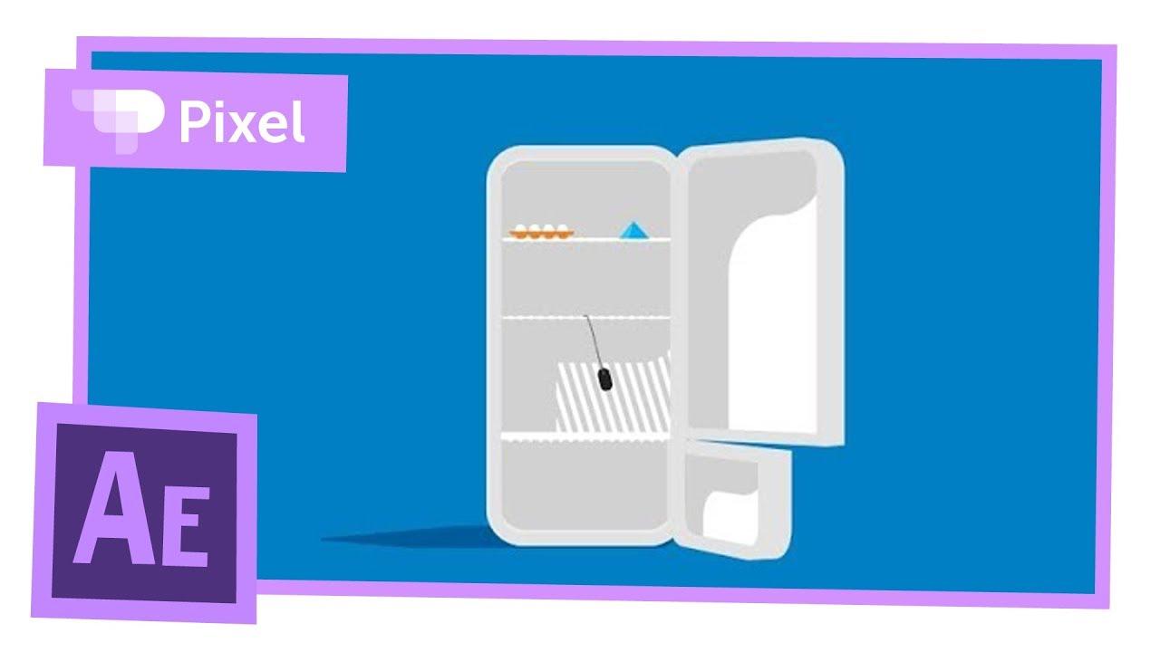 В холодильнике мышь повесилась — урок анимации в After Effects