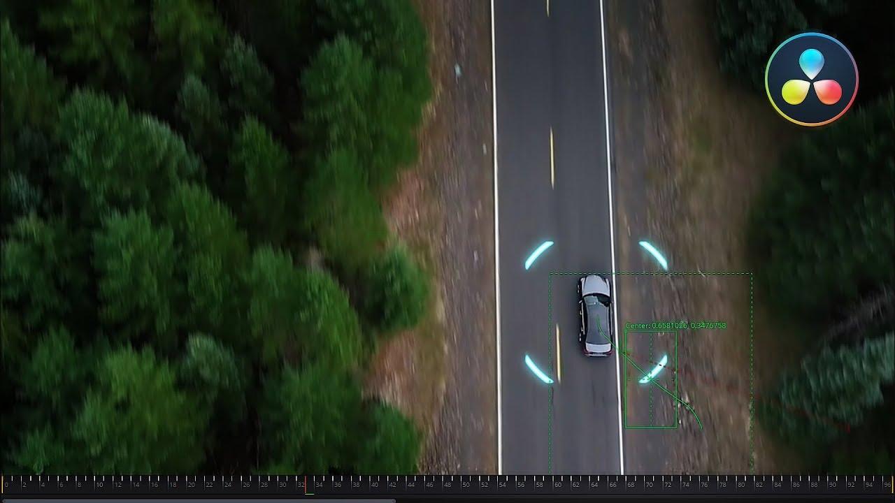 Трекинг объектов в DaVinci Resolve 15 (Fusion Tracking)