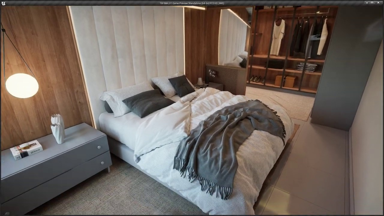 Real time archviz apartment - Unreal Engine