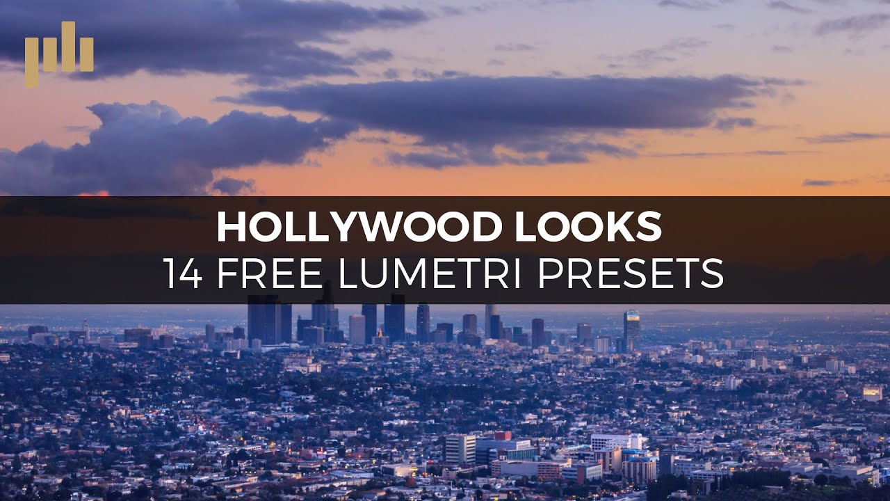 Hollywood Looks: 14 Free Lumetri Color Grading Presets