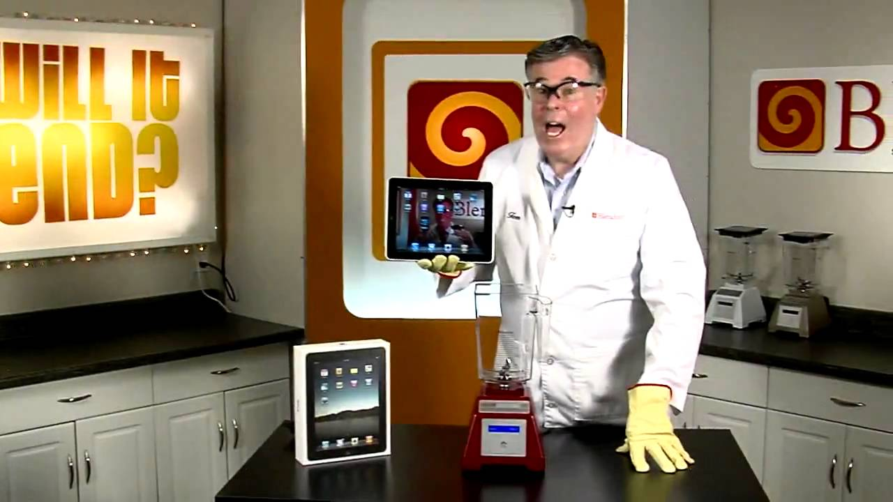 Will It Blend? - iPad