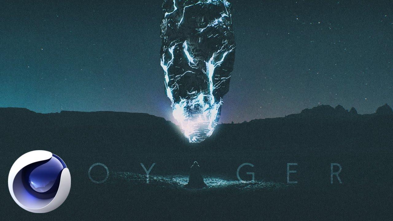Композиция «Voyager» в Cinema 4D и After Effects