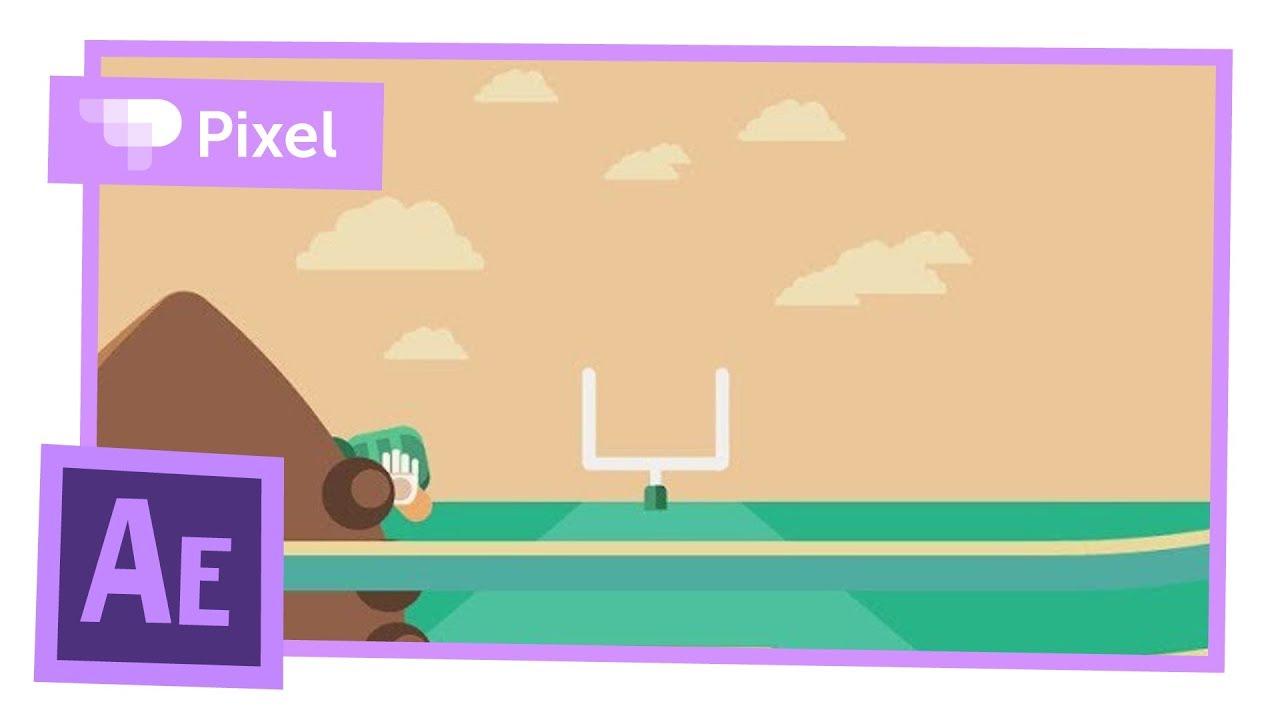 Простая анимация для новичков в Adobe After Effects