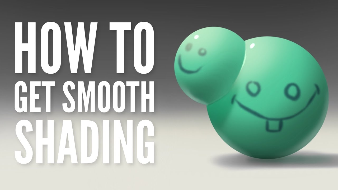 How to Get Smooth Shading