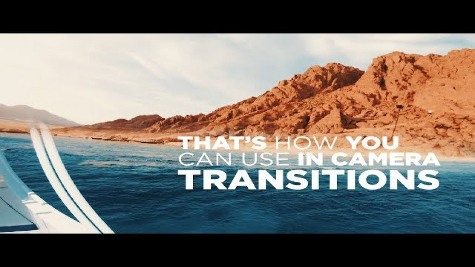 HOW TO USE IN CAMERA TRANSITIONS!