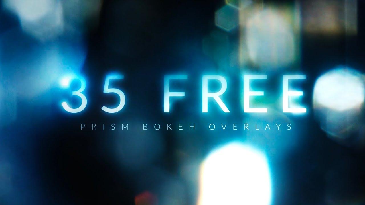 35 FREE Prism Bokeh Effect Overlays | RocketStock