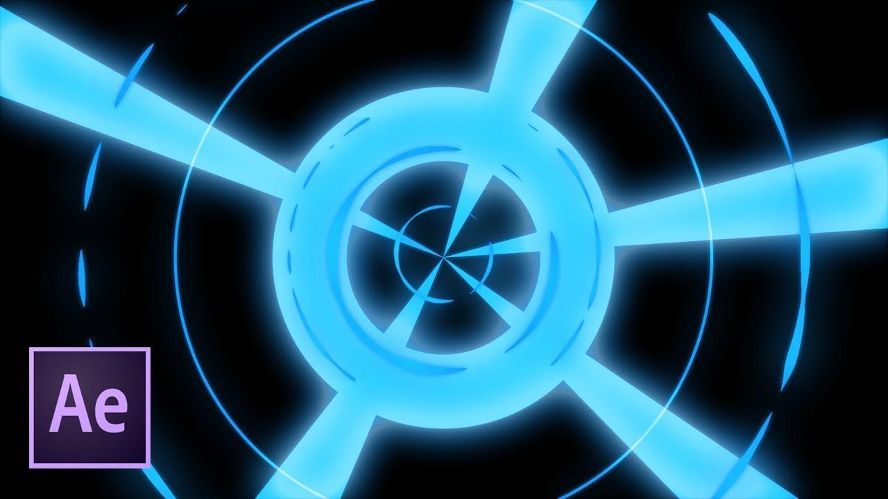 Энергетические лучи в After Effects