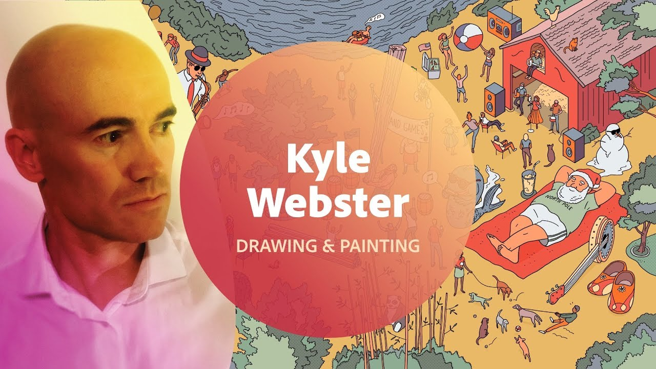 Drawing & Painting in Photoshop with Kyle Webster - 1 of 2