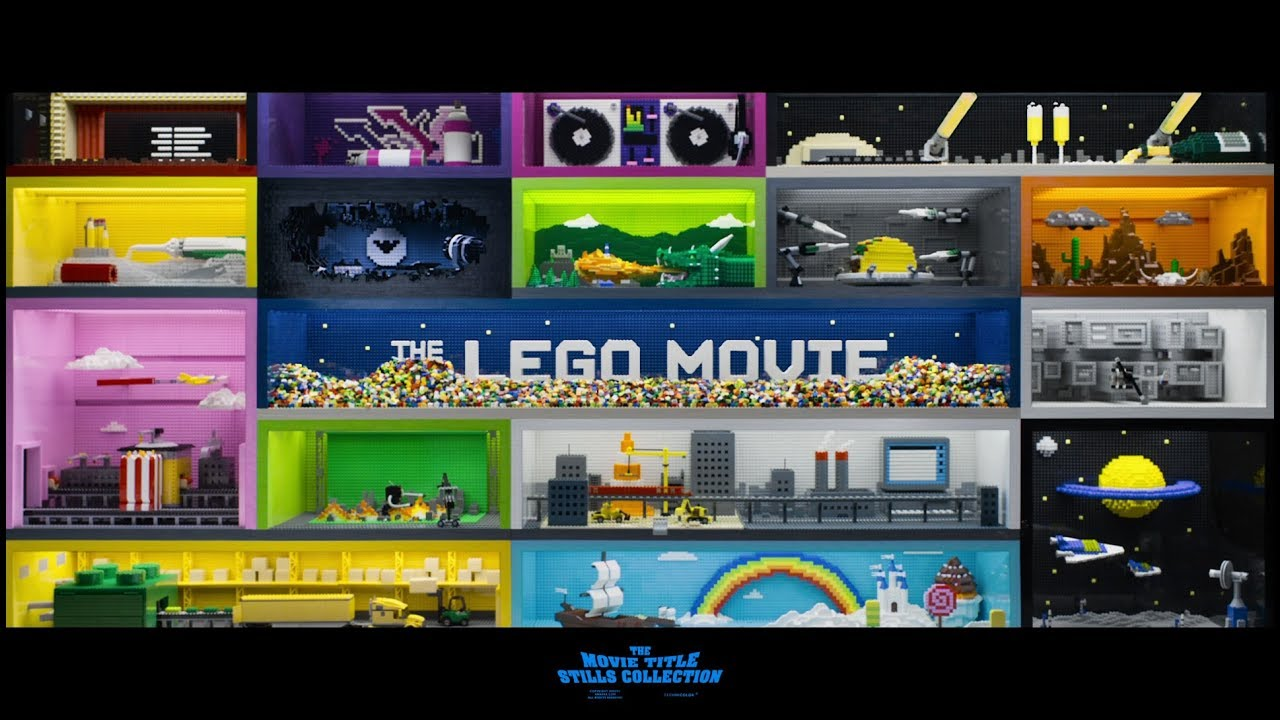 The Lego Movie (2014) Main-on-end titles