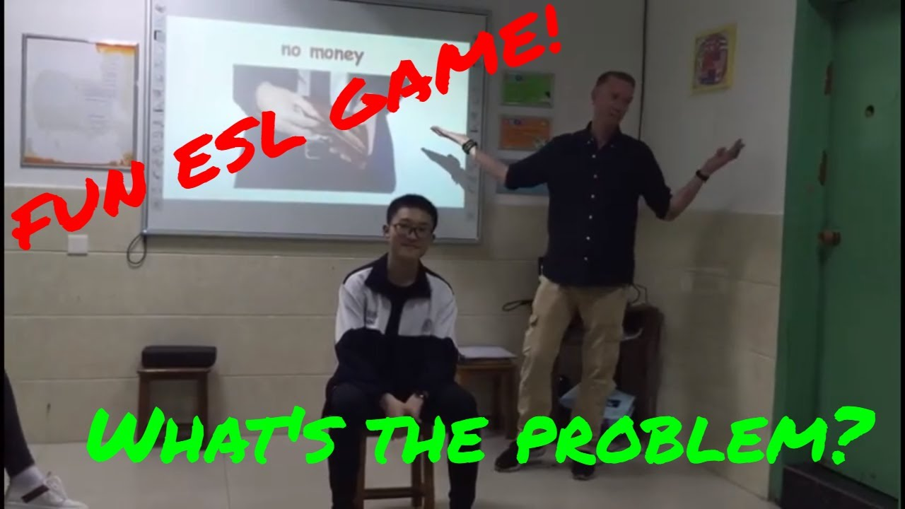 Fun ESL game - What's the problem?