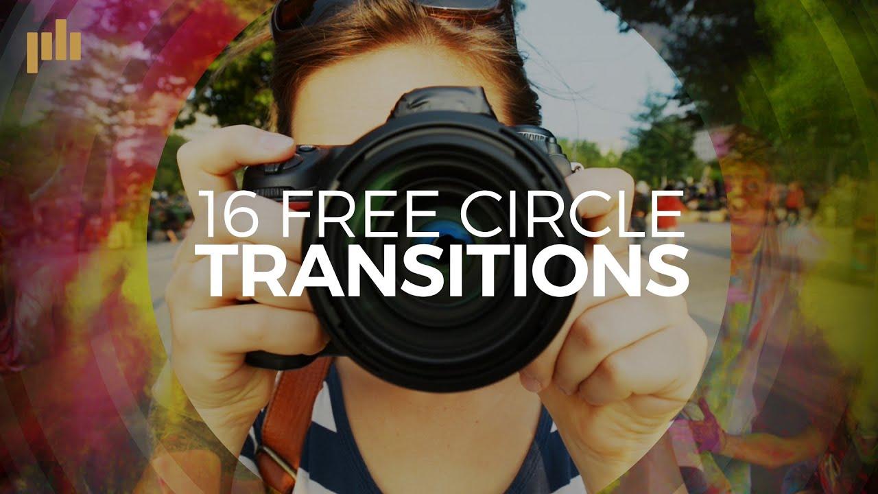 16 Free Circle Transitions
