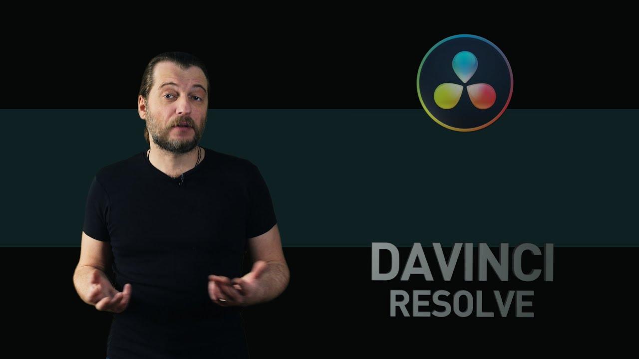 DaVinci Resolve уроки #16: трекинг и размытие объектов в закладке Color DaVinci Resolve