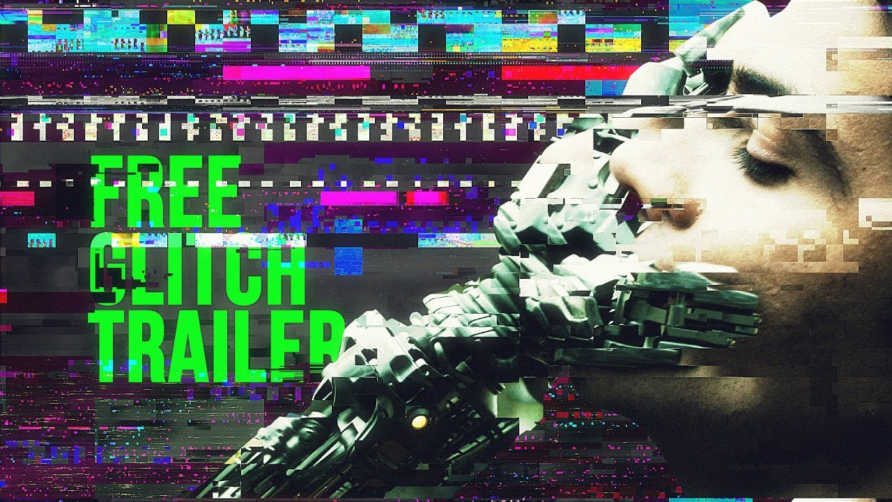 Glitch Freeze Frame Trailer - Free After Effects Template