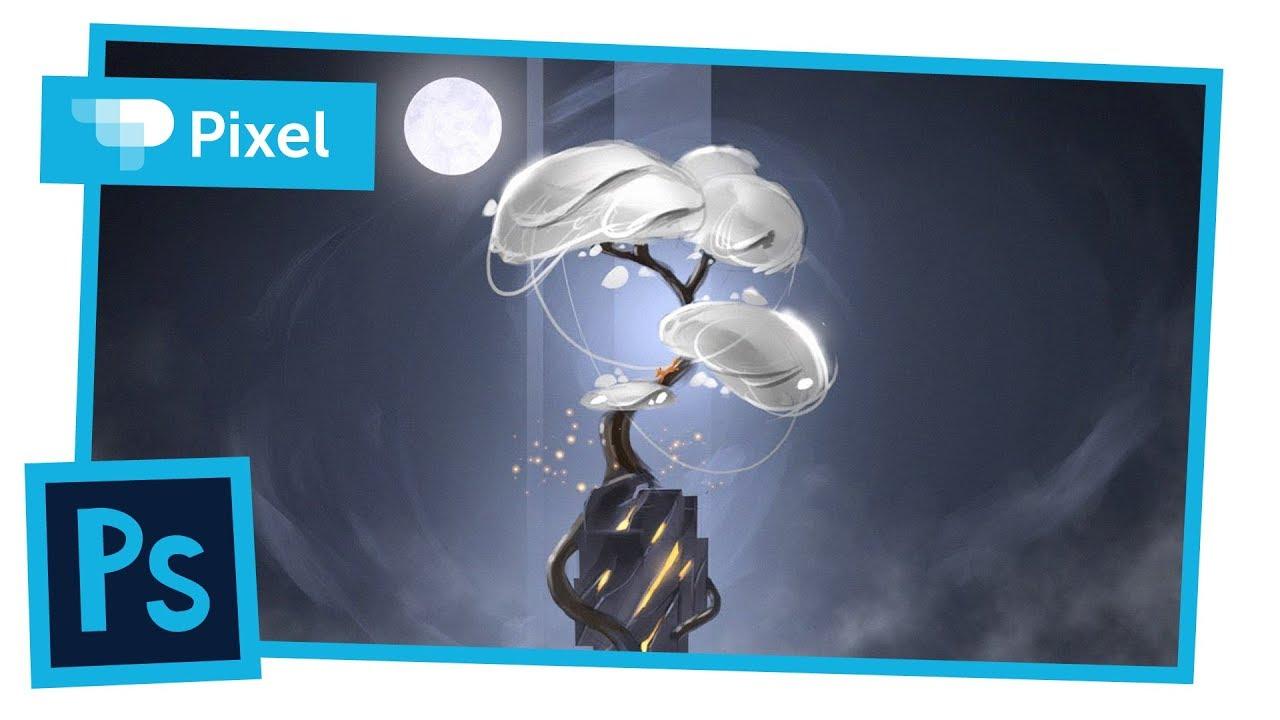Рисуем сказочное дерево в Adobe Photoshop