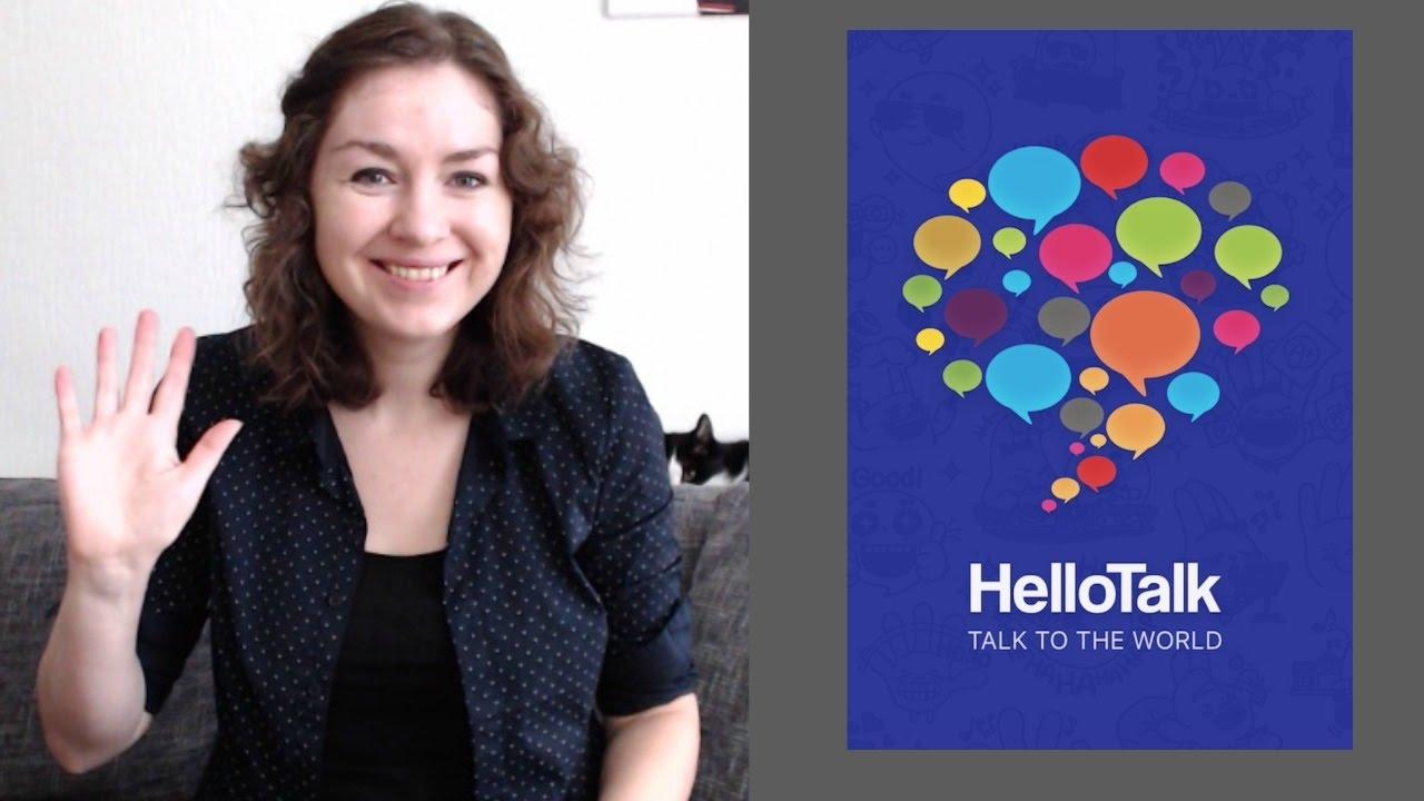 HelloTalk Review // Обзор приложения HelloTalk // RUS/ENG subtitles