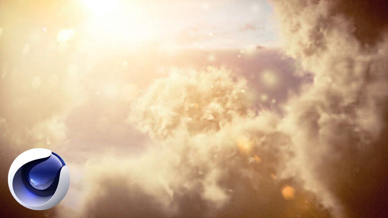 Красивые облака в Cinema 4D