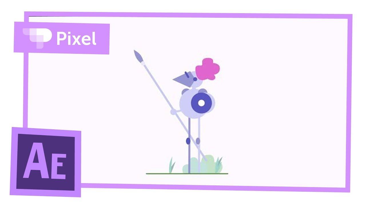 Анимируем рыцаря в Adobe After Effects