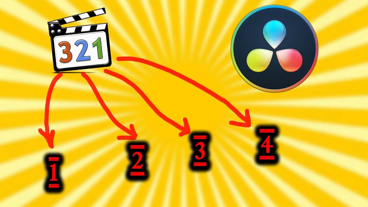07. Как автоматически разделить видео на эпизоды, сцены, ракурсы [DaVinci с нуля]