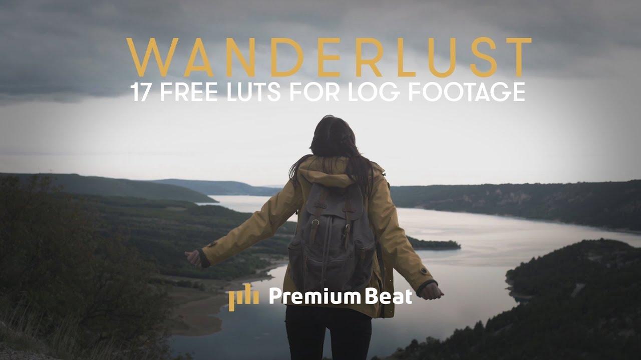 Wanderlust: 17 Free LUTs for LOG Footage | PremiumBeat.com